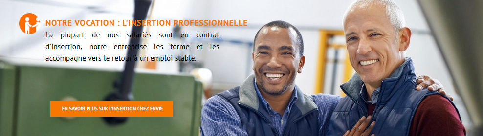 Envie et l'insertion professionnelle